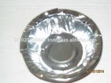 Silver Foil Disposable Paper Plates