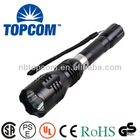 Hid rechargeable hole CE approved electric charge torch light