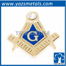 Blue Lodge Lapel Pin Masonic Metal Decoration