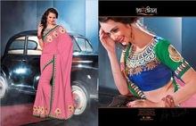 Indian Designer Saree For Ladies heavy embroidery saree saree for ladies ethnic wear 104