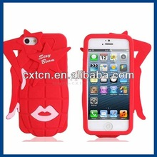 Grenade Silicone Protective Case for iPhone 5 (Red)
