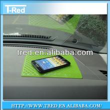 Green anti shock/ bumper pad /skidproof mat for car dashboard