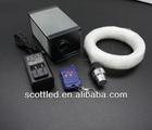 DMX fiber optic 5w ;dimmering function;decorative plastic fiber optic;led lights engine