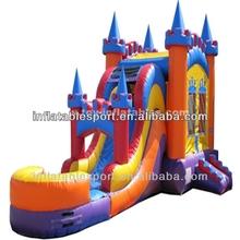kids inflatable bouncer slide
