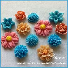 lampwork rose glass bead real flowers in resin $^$ decorative glass flowers natural flower resin coated