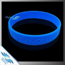 Hope Faith Love Silicone Bracelet