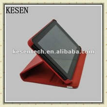 Foldable leather case for Amazon Kindle fire HDX