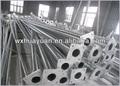 aço galvanizado poste poste de luz