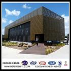 Decorative aluminium perforated roofing sheet metal /lowes sheet metal decorative