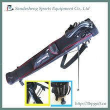 Portable carry stand golf gun bag