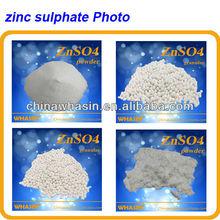Todos os tipos de zinco sulfato de fornecimento de zinco em rações animais, Fertilizantes, Agrícola sprays,HS Código : 2833293000