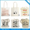 Custom organic plain cotton tote bag,cotton bags promotion