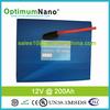 High qualtiy lithium battery pack 12V 200Ah for solar storage system