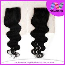 virgin hair silk base free part closure