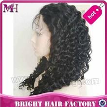 natural kinky curl hair wig natural looking brazilian human hair wig thick human hair lace front wig