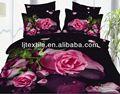 Poliéster 3d conjuntos de cama com colcha cobrir, lençol e fronhas