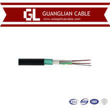 Armored 6 core fiber optic cable single mode for aerial and duct