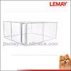 Hot sale 13x13x6ft Large chain link welded mesh heated dog houses for large dogs