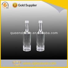 50ML WHISKY BOTTLE SMALL UNIQUE SHAPE GLASS LIQUOR BOTTLE