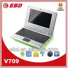 cheap laptops computer 7 inch WM8850 windows ce 6.0 mini netbook
