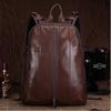 Custom high grade girls leather backpack bags