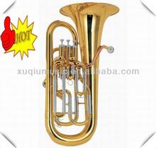 Gold Brass Euphonium 3+1 Piston