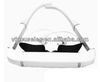 84inch virtual glasses FLCOS 432*240 portable video glasses video eyewear MP4 glasses IPD adjustable for MKV/AVI/MP4