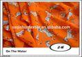 africano impresso chiffon vestidos de tecido novo design