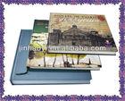 Hard plastic book cover wholesale photo album, leaflet, brochure printing