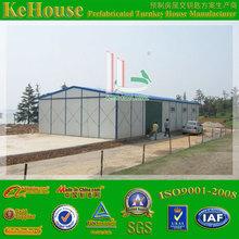 Worker accommodation light steel prefab villa for living/workshop/warehouse