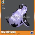 led acrylique 16l natation pingouin de noël décoration