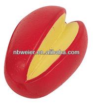 7x4.8x4.2cm PU stress ball mango shape