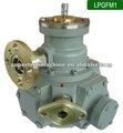 Medidor de flujo de combustible mecánica con válvula de retención fijada, con ventaja de una alta fiabilidad, buena resistencia al desgaste y larga vida