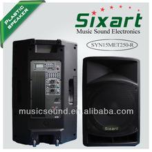 DJ speaker 250W with mp3 bluetooth