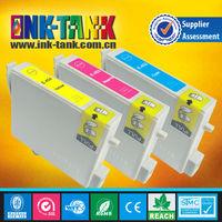 t0452/t0453/t0454 compatible ink cartridge for epson Stylus C66,C86,CX3600,CX3650,CX6600