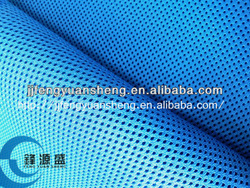 (FYS)100% polyester knitted Durable Breathable gloves air mesh fabric / China Manufacturers