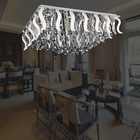 Square lighting ceiling lamp from Zhong shan manufacturer