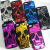 Silicon&PC Skeleton Head Protective Case for Iphone 5C,For Apple Iphone 5C case
