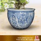 High Grade Chinese Antique Hand Painted Big Flower Vase Ceramic