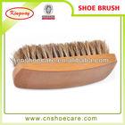 Free sample animal shoe brush with 100% pig hair