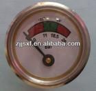 diaphragm pressure gauge for fire extinguisher