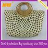 decorative straw bag natural handmade paper straw bag lady handbag
