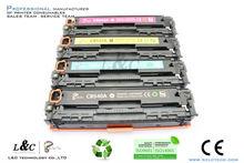 original packaging boxes for hp printer 540-543 oem color toner cartridge