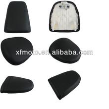 Motorcycle rear seat passenger cushion for Suzuki Honda Yamaha Kawasaki