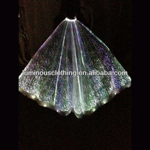 gorgeous and new optic fiber led fairy wings wholesale