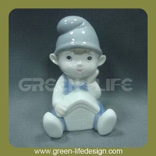 High quality little boy porcelain baby shower figurines