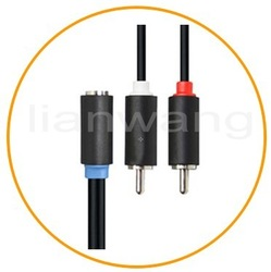 2014 VGA RCA Cable For car Audio System