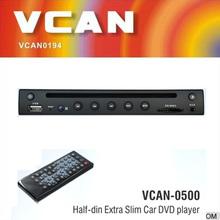VCAN0500 Half-din Extra Slim reset function superior car dvd player DVD/MP4/DIVX/JPEG/VCD/MP3/CD/CD-R