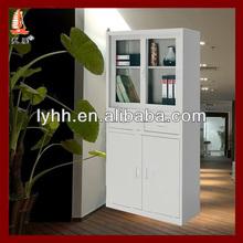 Cost-effective half glass door cheap sliding doors file cabinet,attractive filing cabinet