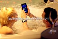 European Style Luxurious Fan Shaped Bathtub Portable Massage